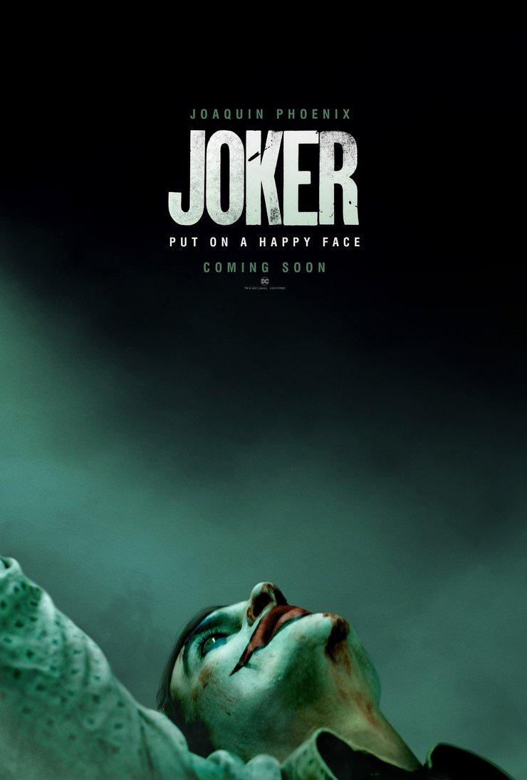 Joker Poster - بهترین پوستر های فیلم 2019