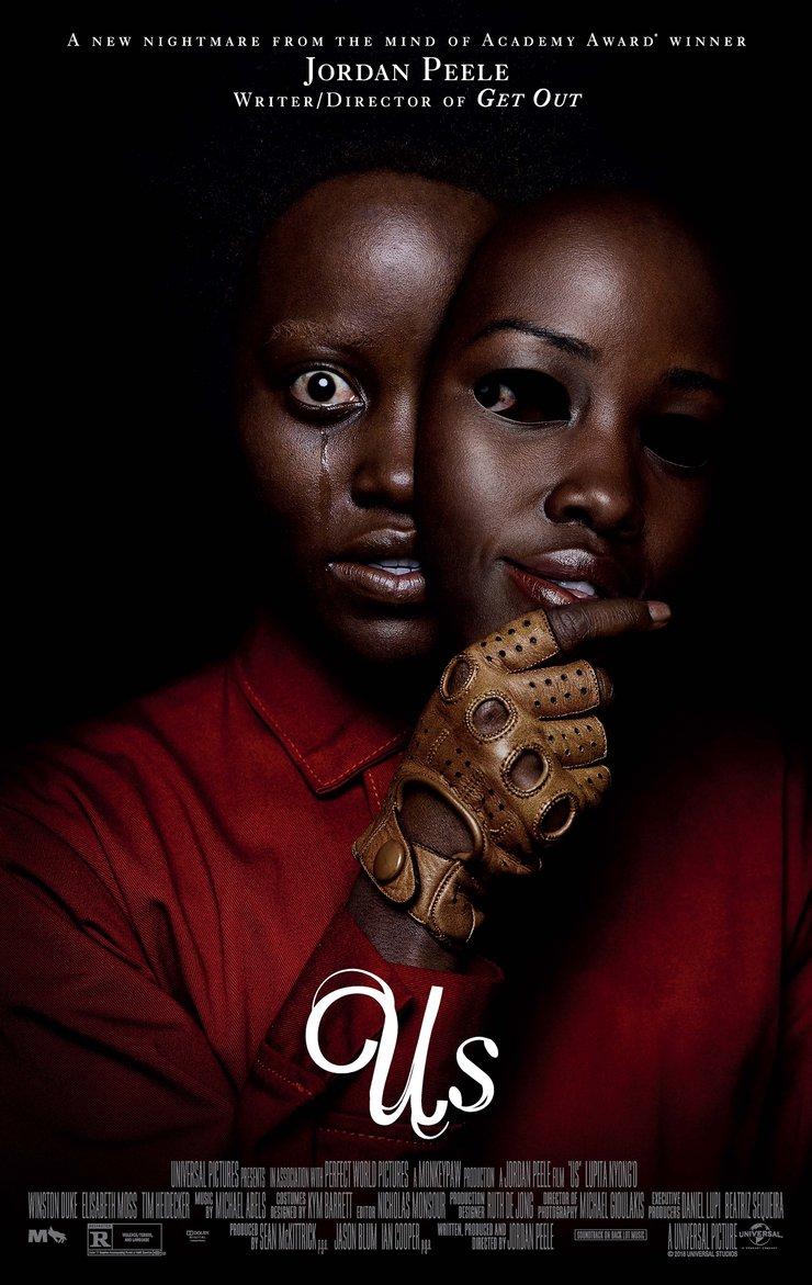 Us Poster - بهترین پوستر های فیلم 2019